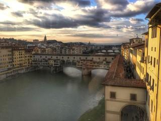 Florenz in der Toskana Ponte Vecchio