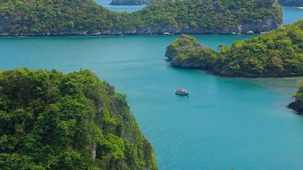 Sea Thailand, Mu Ko Ang Thong island National Park