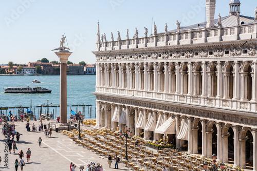 Fototapeta Dettagli di Piazza San Marco, Venezia, Veneto, Italia