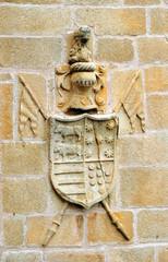 Escudo de Armas, Casa de los Becerra, Cáceres, España