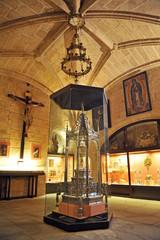Sacristía de la catedral de Cáceres, España