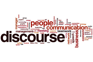 Discourse word cloud