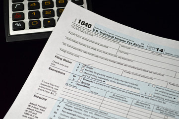 Tax preparation for 2014 IRS