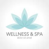 Logo Design Wellness Spa Beauty
