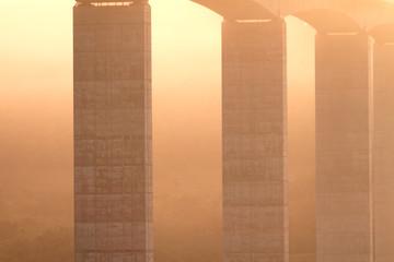 Large highway viaduct ( Hungary)