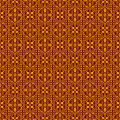 Vintage seamless wallpaper background pattern