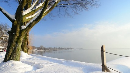 Winter at Lake Constance