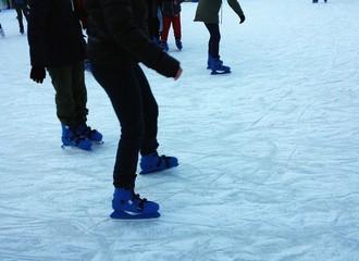 Pista di ghiaccio e principianti