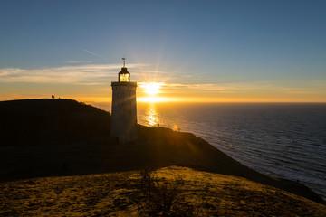 Leuchtturm, Sonnenuntergang