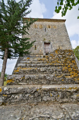 Tower in Butrint, Albania