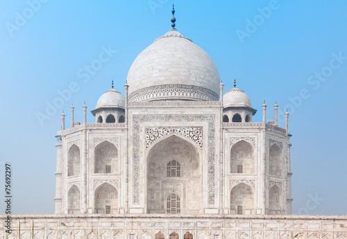 Leinwanddruck Bild Taj Mahal in India
