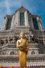 Golden Buddha at Wat Arun, Bangkok, Thailand