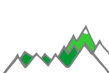 Almwiesen - Bergpanorama