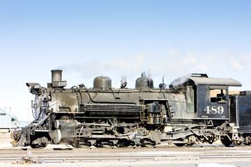 Cumbres and Toltec Narrow Gauge Railroad, Antonito, Colorado, US