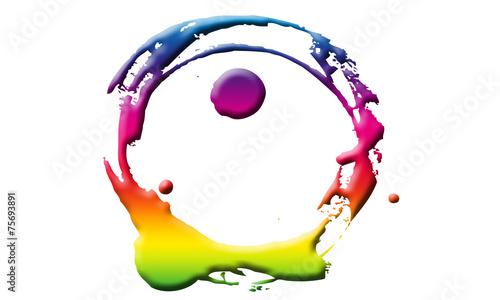 canvas print picture Brush Logo #1