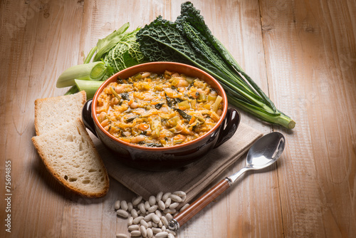 ribollita traditional tuscany soup