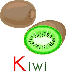 Kiwi with title