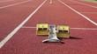 Handicapped sprinter start block