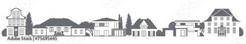 Verschiedene Häuser - 75695645