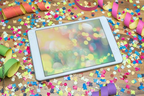 Party Karneval iPad