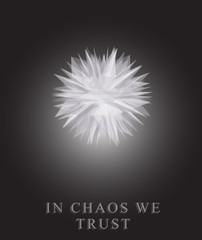 Chaos. Metamorphosis absrtact object.