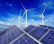 Solar battery panels and wind generators - 75697286