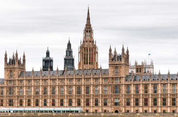 Buildings of British Parliament