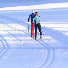 Fit durch den Winter mit Langlauf