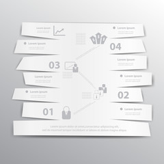 Vector business template.