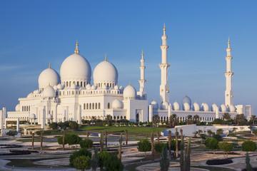 Famous Sheikh Zayed Grand Mosque, Abu Dhabi
