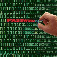 Password Theft Concept