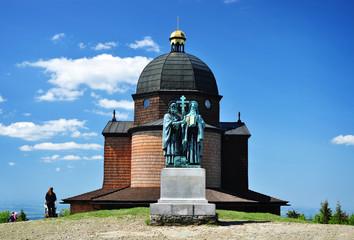 Radhost historic Chapel Czech Republic
