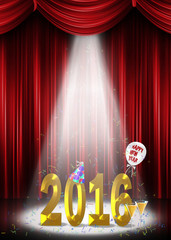 New Year 2016 in the spotlight on stage