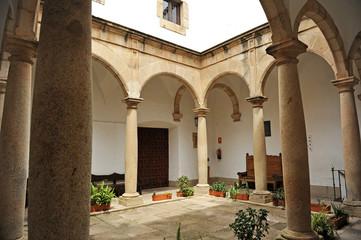 Patio del Museo, Cáceres, Extremadura, España