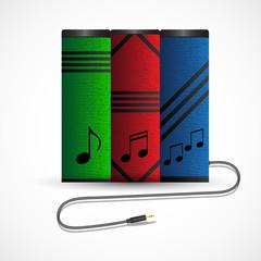 Audiobooks vector design