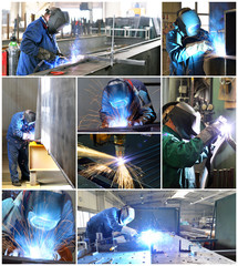 Schweißtechnik // welder at work