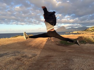 Salto acrobatico
