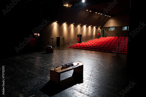 Staande foto Theater behind the scenes