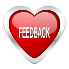 feedback valentine icon