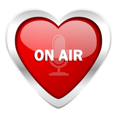 on air valentine icon
