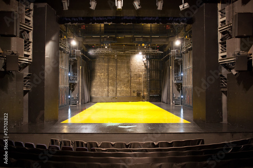 empty theatre stage - 75702822