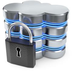 Cloud Datenserver Schloss