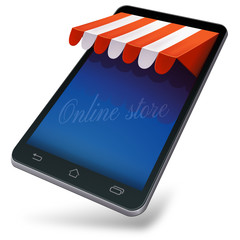 Online store in mobile device