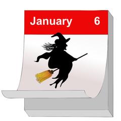 6 Gennaio, Giorno della Befana