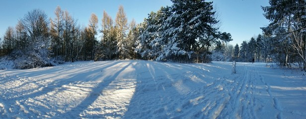 Winterlandschaft Panorama