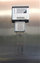 Alarm keypad and intercom