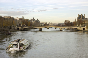 View to the Seine.