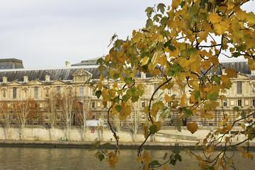 Paris in an autumn time.