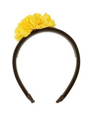 Headband on white background