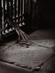 Prisoner reach for the key